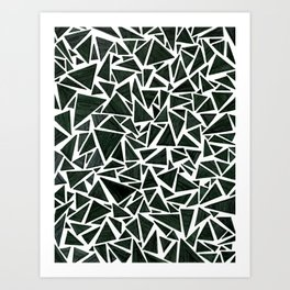 triangles (trois) Art Print