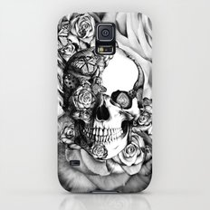 Butterfly rose skull with ladybugs. Good luck Slim Case Galaxy S5
