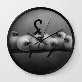 Bird Grotesk Wall Clock