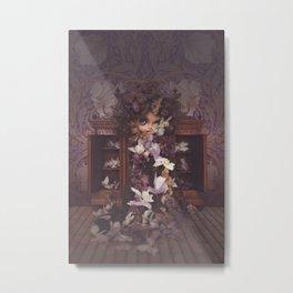 DEAD FLOWERS II by Erregiro dolls Metal Print