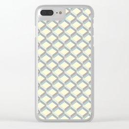 Sandbox grid Clear iPhone Case