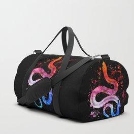 Snake Blacky Black Duffle Bag