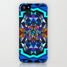 Facets iPhone Case