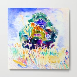 John Marin The Tree Metal Print