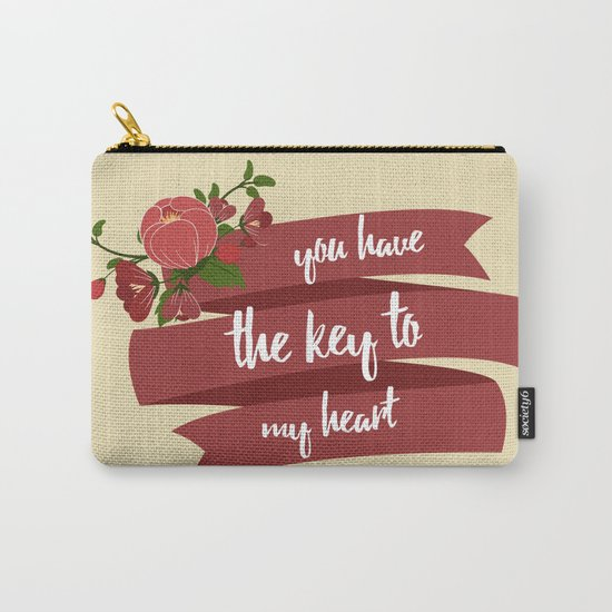 Key to my heart Carry-All Pouch
