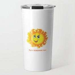 Dar's SUNSHINE Spa Travel Mug