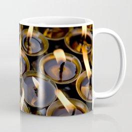 Tibetan Buddhist Oil Butter Lamps Coffee Mug