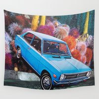 movies Wall Tapestries featuring I want to see movies of my dreams by John Turck