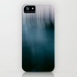 Forest Wilderness by the Sea Abstract iPhone Case