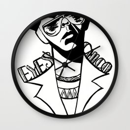 It's In the Eyes Chico Wall Clock
