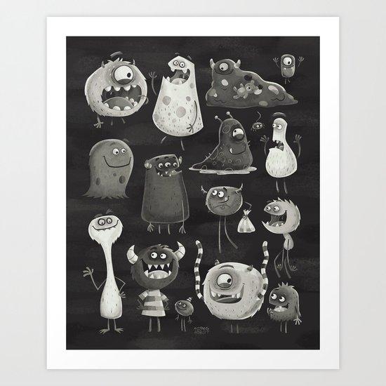 Kept in the Dark Art Print