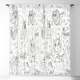 Fantasy cats Blackout Curtain
