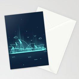 Sydney opera house Australia Stationery Cards