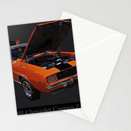 1969 Chevy Camaro Z28 Stationery Cards