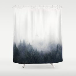 I Don't Give A Fog Shower Curtain