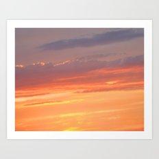 Berkshires Sunset IV Art Print