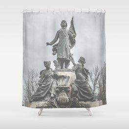 Abolish Slavery Shower Curtain