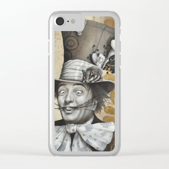 Le chapelier Clear iPhone Case