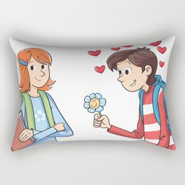 Courtship Rectangular Pillow