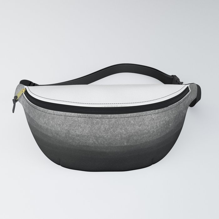 Black & Gold Stripes on White - Mix & Match with Simplicty of life Fanny Pack