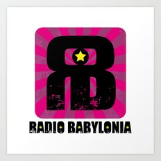 Radio Babylonia Art Print