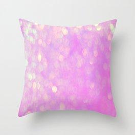 Bubblicious Pink Throw Pillow