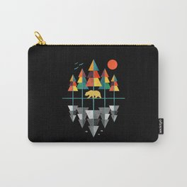 Geometrical Nature Carry-All Pouch