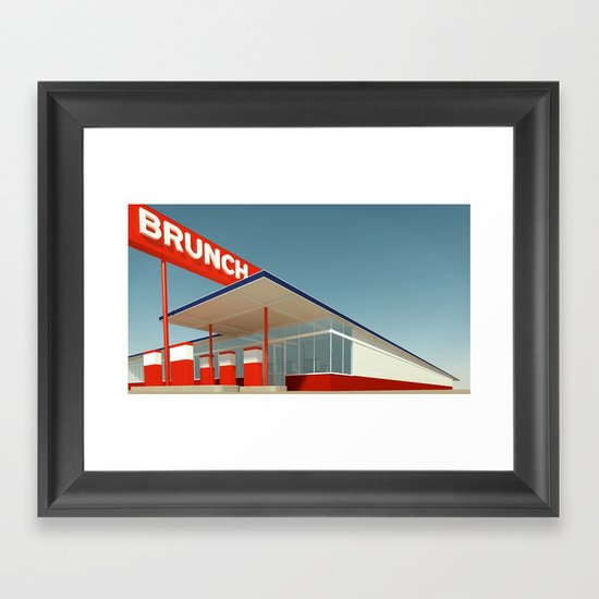 Ed Brunch Framed Art Print