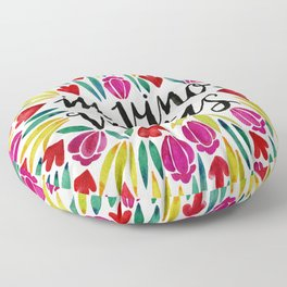 In Vino Veritas Floor Pillow