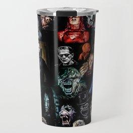 Legends of Horror print Travel Mug