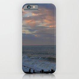 Sunset on Cart Gap beach iPhone Case