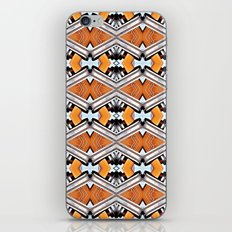 Orange and Neon iPhone Skin