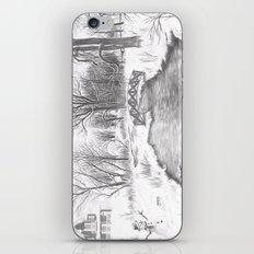 Snowy Landscape iPhone & iPod Skin