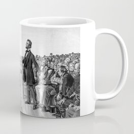 President Lincoln Delivering The Gettysburg Address Coffee Mug
