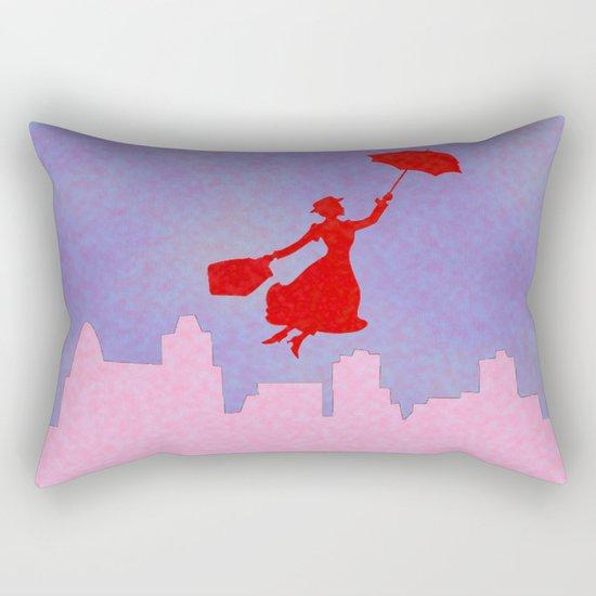 Girlie Miss Poppins  Rectangular Pillow