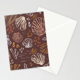 Deep-sea Treasures - warm Stationery Cards