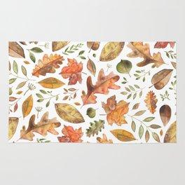 Autumn/Fall Leaves Rug