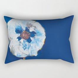 Life in Blue  Rectangular Pillow