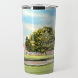 Sunningdale Golf Course 18th Green Travel Mug