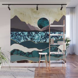Desert Lake Wall Mural