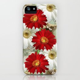 vintage & gerbers iPhone Case