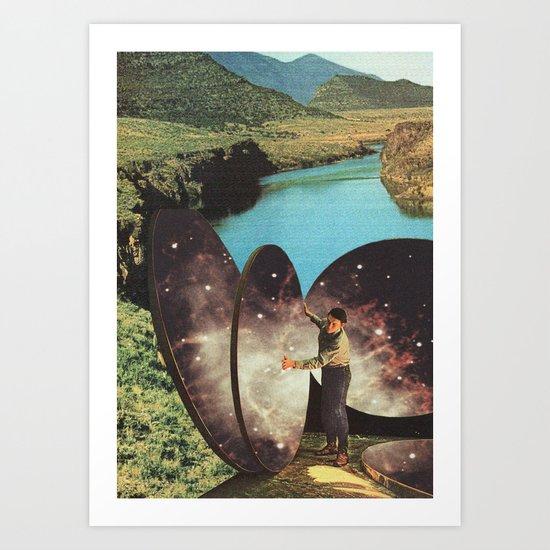 El Artista de los Cielos Art Print