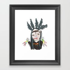 ahHHHHH #6 Framed Art Print