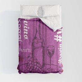 Hashtag Wine Comforters