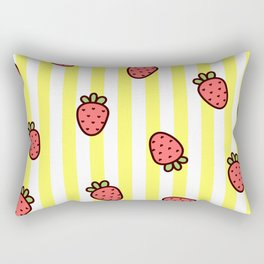 Strawberry Sweetness Rectangular Pillow