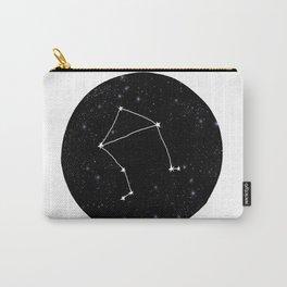 Libra minimal constellation star sign zodiac art print Carry-All Pouch