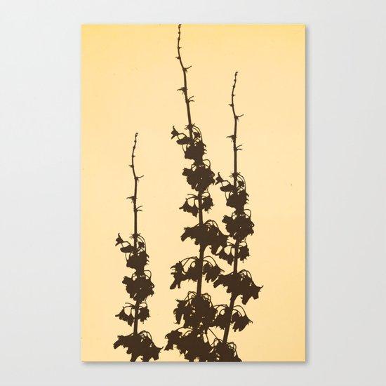 Florales · plant end 4 Canvas Print