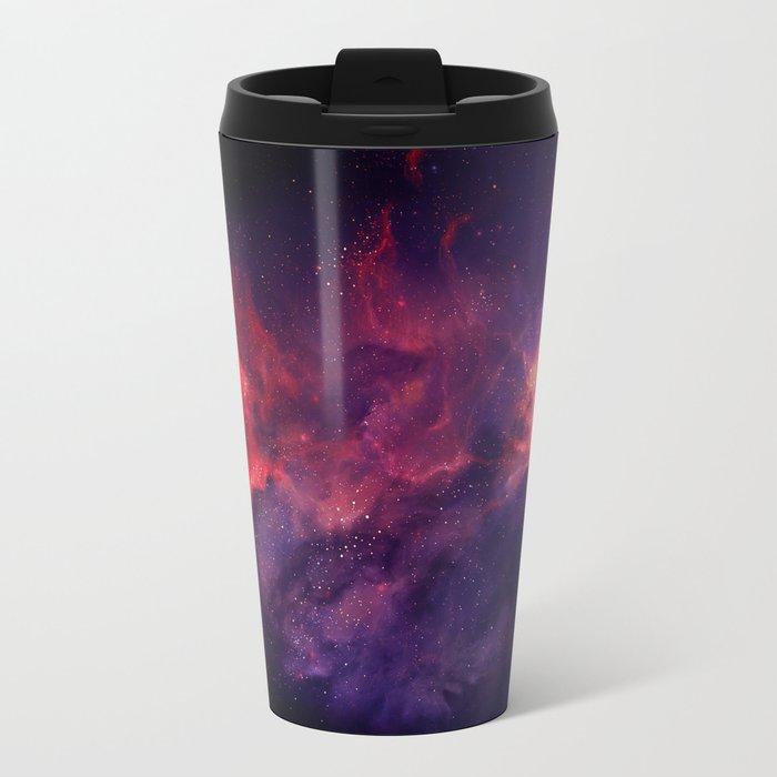 Fire Cosmo Metal Travel Mug