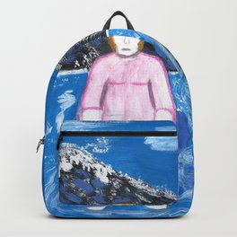 Nicole, A Whale of a Woman Backpack