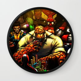 play on the sidelines during the flurry Wall Clock